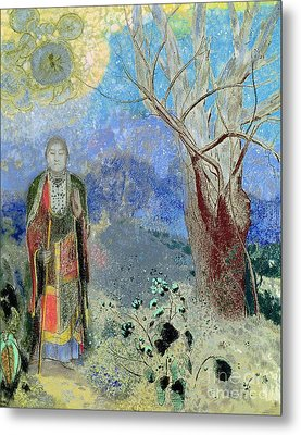 The Buddha Metal Print by Odilon Redon