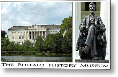 The Buffalo History Museum Metal Print by Peter Chilelli