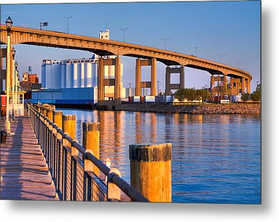 Metal Print featuring the photograph The Buffalo Skyway by Don Nieman