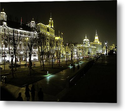 The Bund - Shanghai's Famous Waterfront Metal Print by Christine Till
