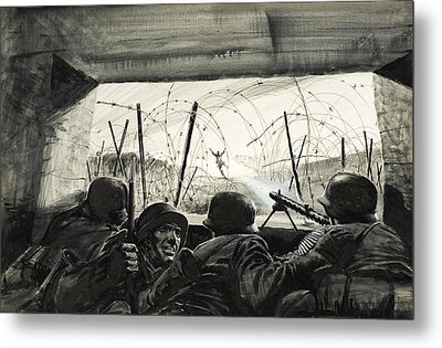 The Bunker  Metal Print
