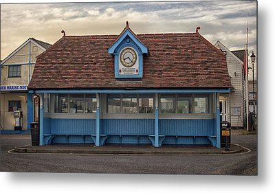 The Bus Stop Metal Print by Martin Newman