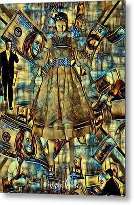 The Business Of Humans Metal Print