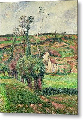 The Cabbage Slopes Metal Print by Camille Pissarro