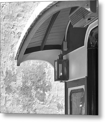 The Cable Car Nantucket Metal Print by Charles Harden