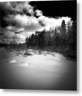 Metal Print featuring the photograph The Calm Of Winter by David Patterson