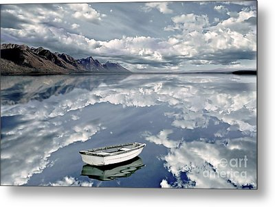 The Calm Metal Print by Jacky Gerritsen