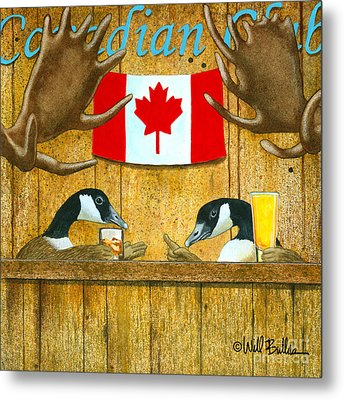 The Canadian Club... Metal Print by Will Bullas