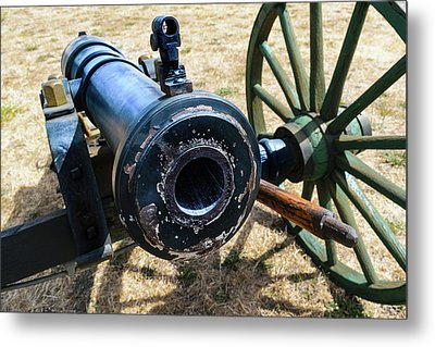 The Cannon Of Elkton Metal Print by Daniel LaFollette