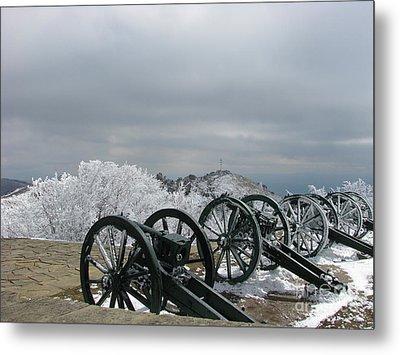 The Cannons At Shipka Metal Print by Iglika Milcheva-Godfrey