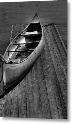 The Canoe Metal Print by David Patterson