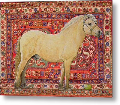 The Carpet Horse Metal Print by Ditz