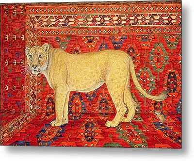 The Carpet Mouse Metal Print