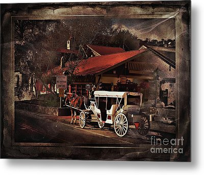 The Carriage Metal Print