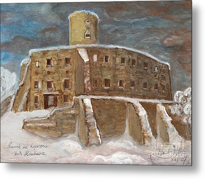 The Castle Metal Print by Anna Folkartanna Maciejewska-Dyba