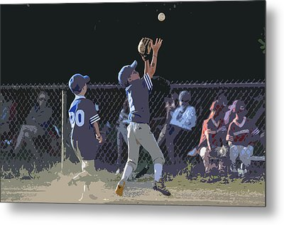 The Catch Metal Print by Peter  McIntosh
