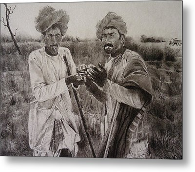 The Cattle Rearers Metal Print
