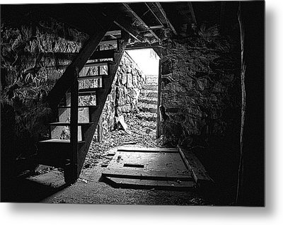 The Cellar Metal Print by Phil Koch