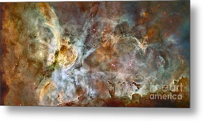 The Central Region Of The Carina Nebula Metal Print