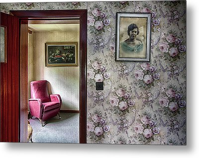 Metal Print featuring the photograph The Chair Of Lost Opportunities by Dirk Ercken