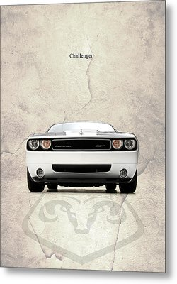 The Challenger Metal Print by Mark Rogan
