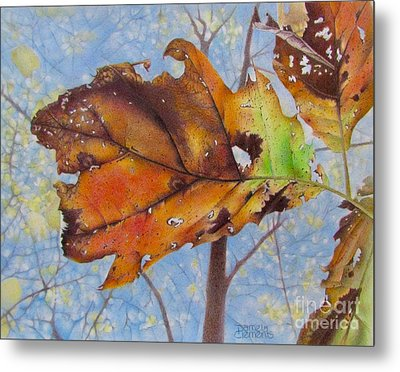 Changes Metal Print by Pamela Clements