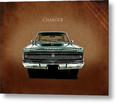 The Charger Metal Print by Mark Rogan