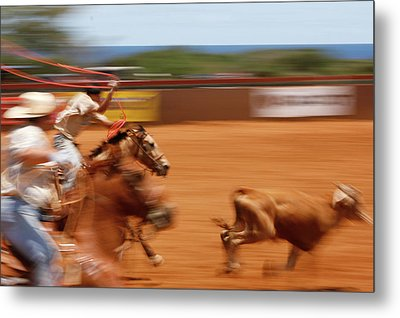 Metal Print featuring the photograph The Chase by Roger Mullenhour