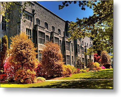 The Chem Building At Ubc Metal Print by Lawrence Christopher