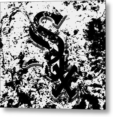 The Chicago White Sox 1c Metal Print by Brian Reaves