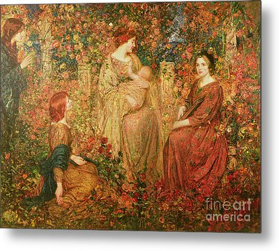 The Child Metal Print