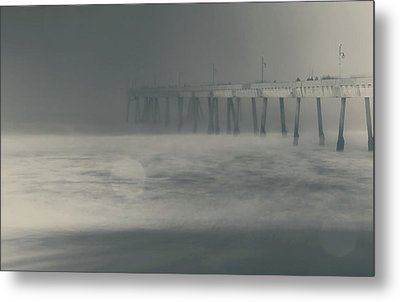 The Chill In My Bones Metal Print by Laurie Search