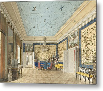 The Chinese Room In The Royal Palace, Berlin Metal Print