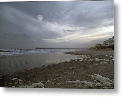 The Christmas Moon Metal Print by Betsy Knapp