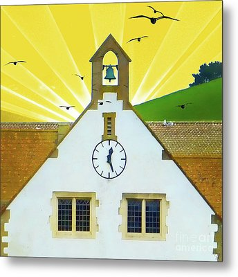 Metal Print featuring the photograph The Church Bell by LemonArt Photography