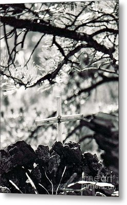 Metal Print featuring the photograph The Church by Juls Adams