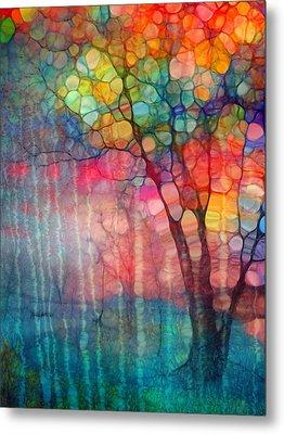 The Circus Tree Metal Print