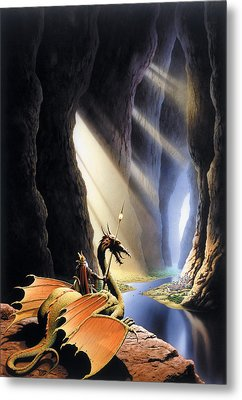 The Citadel Metal Print by The Dragon Chronicles - Steve Re