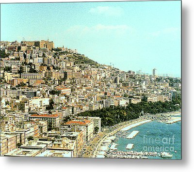Metal Print featuring the photograph The City Of Sorrento, Italy by Merton Allen
