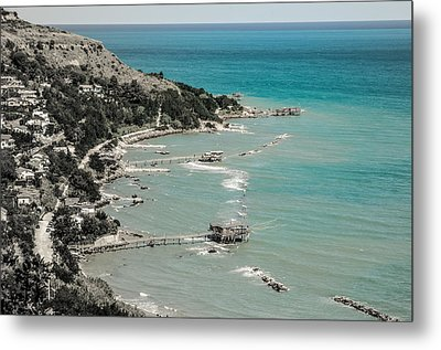 The City Of Waves Metal Print