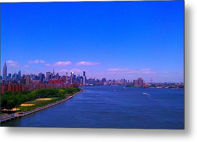 The City Metal Print by Paul SEQUENCE Ferguson             sequence dot net