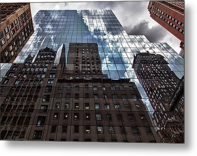 The City Metal Print by Robert Ullmann