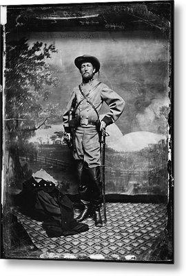 The Civil War, Colonel John S. Mosby Metal Print by Everett