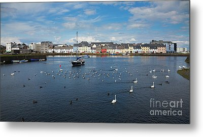 The Claddagh Galway Metal Print by Gabriela Insuratelu