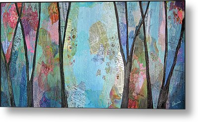 The Clearing II Metal Print by Shadia Derbyshire