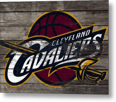 The Cleveland Cavaliers 3f      Metal Print