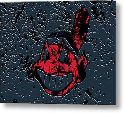 The Cleveland Indians Metal Print by Brian Reaves