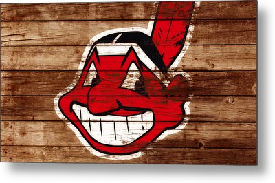 The Cleveland Indians C1 Metal Print by Brian Reaves