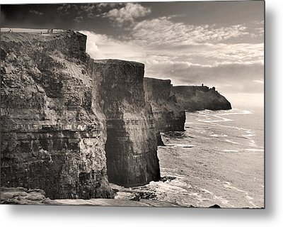 The Cliffs Of Moher Metal Print by Robert Lacy