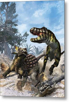 The Clubbed Tail Metal Print by Kurt Miller